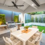 Modern Hamptons Garden Alfresco