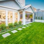 Modern Hamptons Garden Lawn Al Fresco Gables